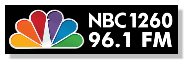NBC 1260-96.1-FM  Station Logo Used With Written Permission